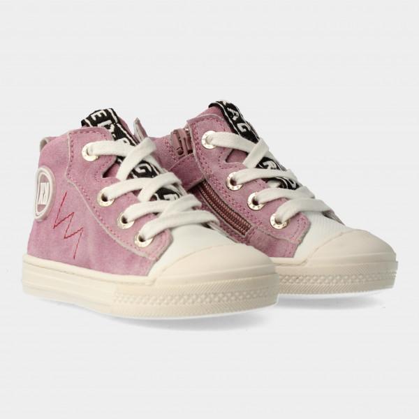 Hoge Roze Sneakers Met Rits | Red-Rag 11000