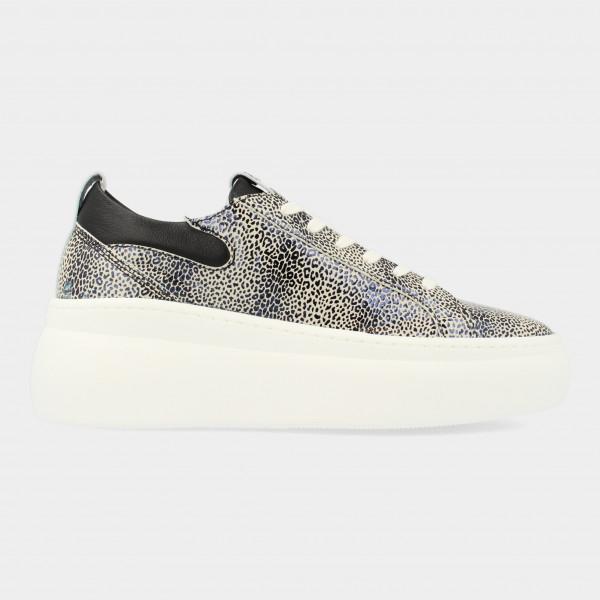 Witte Sneakers Met Print | Red-Rag 74324