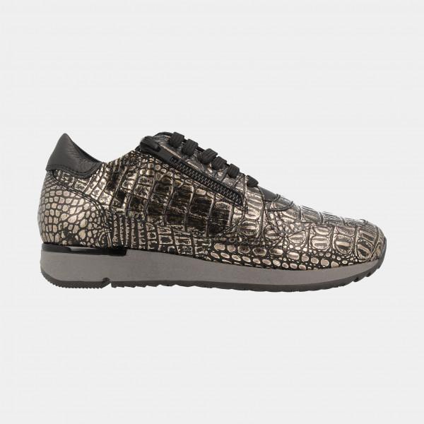 Zwart Gouden Sneakers | Red-Rag 76768