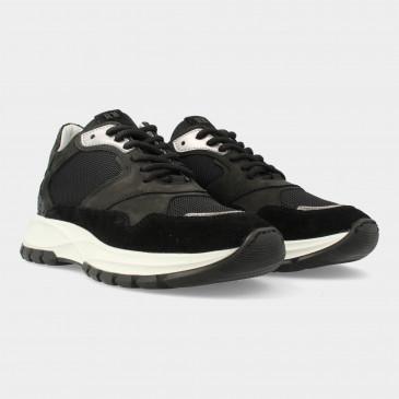 Zwarte Sneakers | Red-Rag 76858