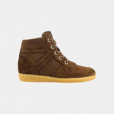 Hoge Groene Wedge Sneakers | Red-Rag 11168