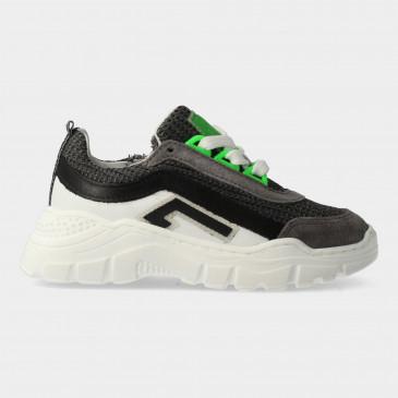 Grijze Sneakers Met Rits   Red-Rag 13437
