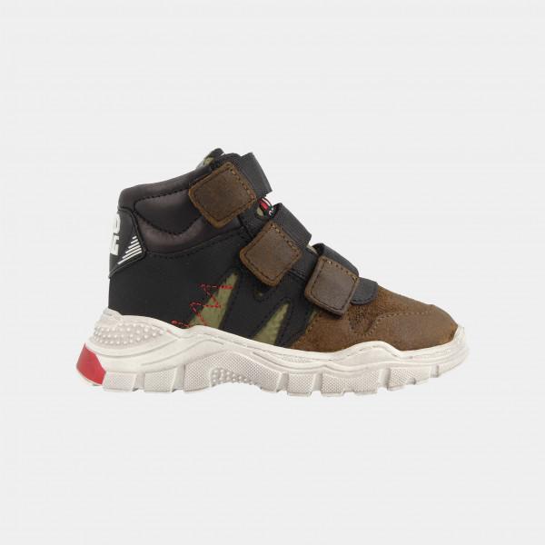 Hoge Groene Sneakers | Red-Rag 13119