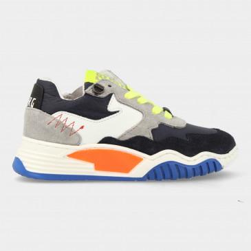 Blauwe Sneakers Met Rits | Red-Rag 13053