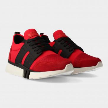 Rode Sneakers | Red-Rag 13447
