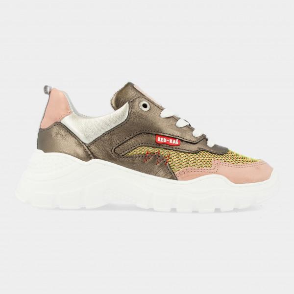 Bronzen Sneakers   Red-Rag 13282