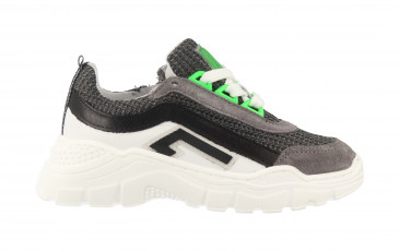 13437   Boys Low Cut Sneaker Laces