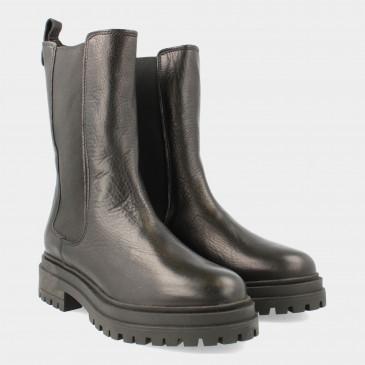 Hoge Zwarte Chelsea Boots | Red-Rag 71124