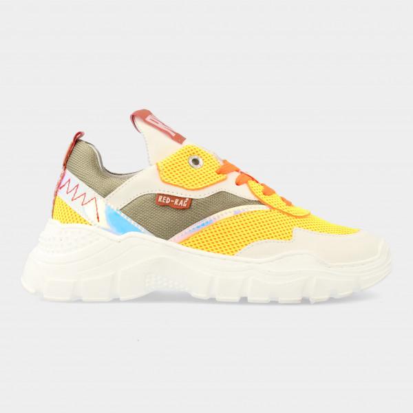 Gele Sneakers | Red-Rag 13181
