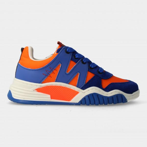 Oranje Sneakers Met Rits   Red-Rag 13433