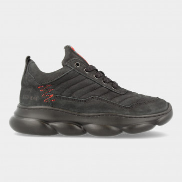 Zwarte Sneakers | Red-Rag 13541