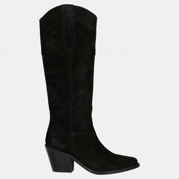 Zwarte Cowboy Laarzen | Red-Rag 77004