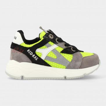 Gele Sneakers Met Rits | Red-Rag 13051