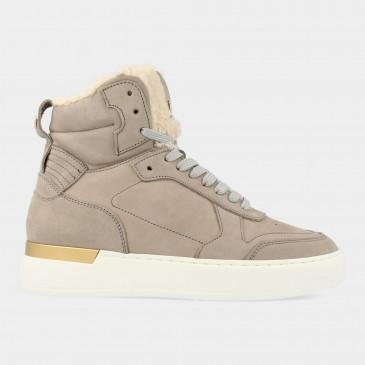 Hoge Grijze Sneakers | Red-Rag 71272
