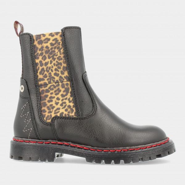 Zwarte Chelsea Boots   Red-Rag 12322