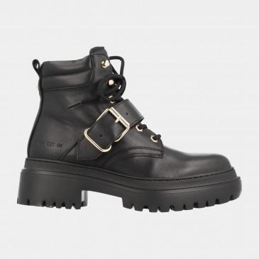 Zwarte Biker Boots | Red-Rag 74352