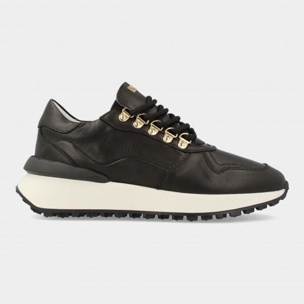 Zwarte Sneakers   Red-Rag 76846