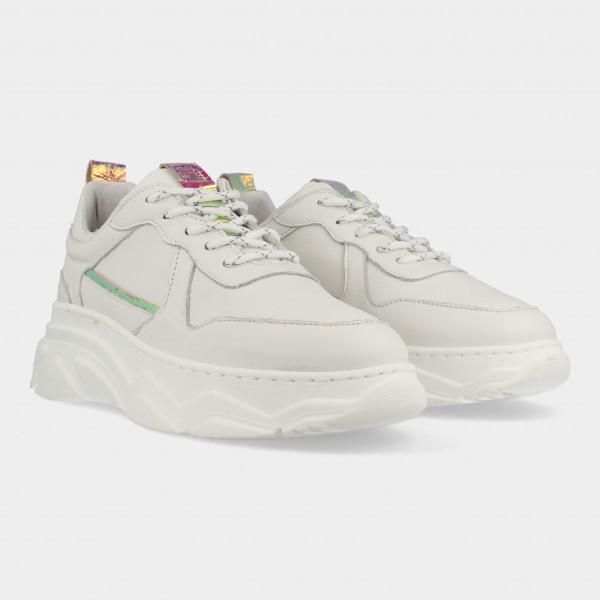 Witte Sneakers   Red-Rag 77072