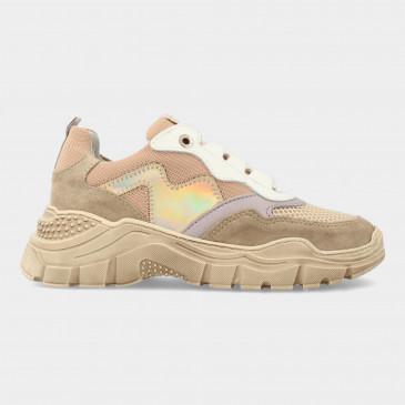Beige Sneakers | Red-Rag 13042
