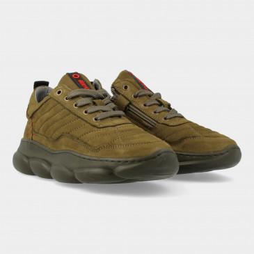Groene Sneakers | Red-Rag 13541
