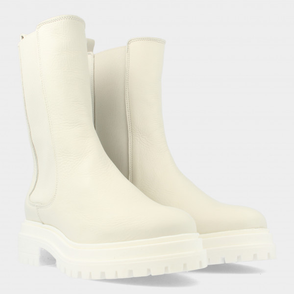 Hoge Witte Chelsea Boots | Red-Rag 71124