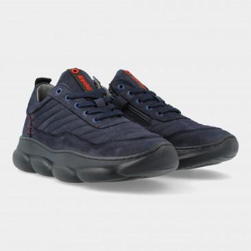 Blauwe Sneakers   Red-Rag 13541