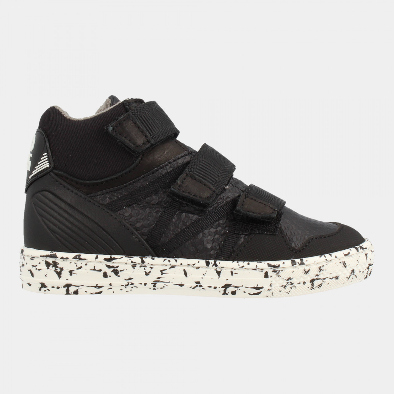 Boys Mid Cut Sneaker 3 Velcro
