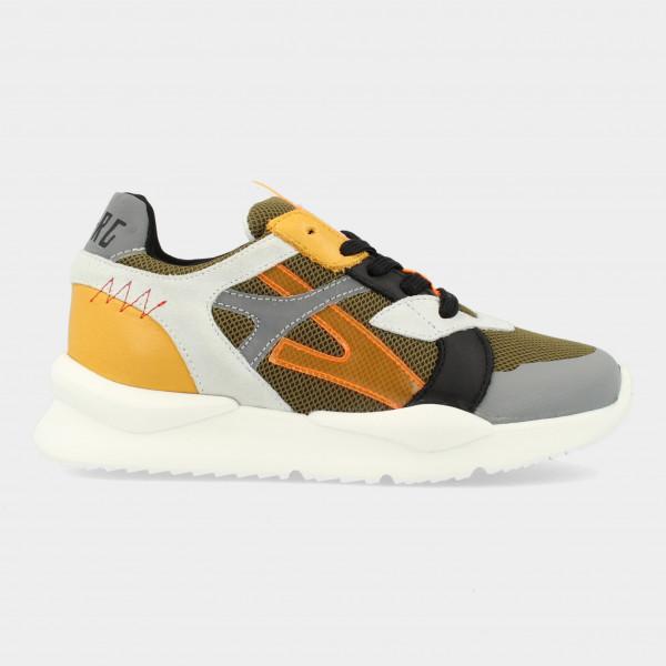 Groene Sneakers | Red-Rag 13093