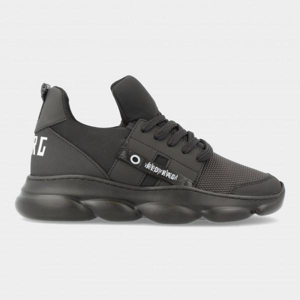 Zwarte Sneakers   Red-Rag 13527