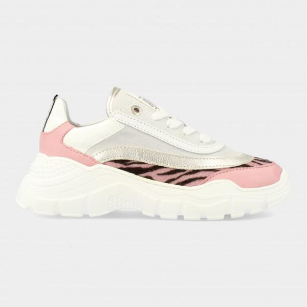 Roze Sneakers Met Zebra Print | Red-Rag 13262