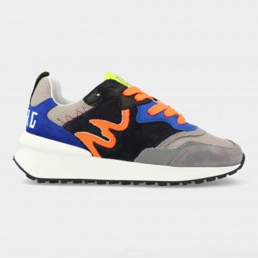 Blauwe Sneakers | Red-Rag 13109