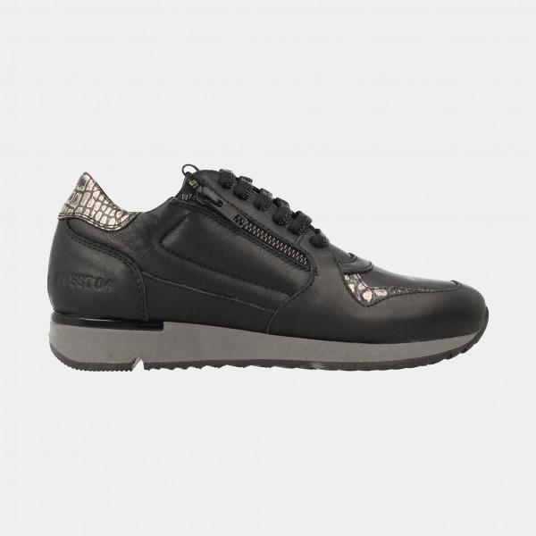 Zwarte Sneakers | Red-Rag 76772