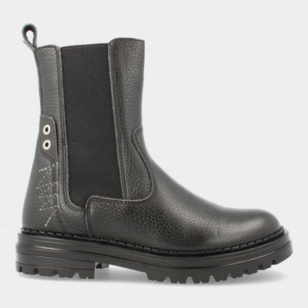 Zwarte Chelsea Boots   Red-Rag 12304