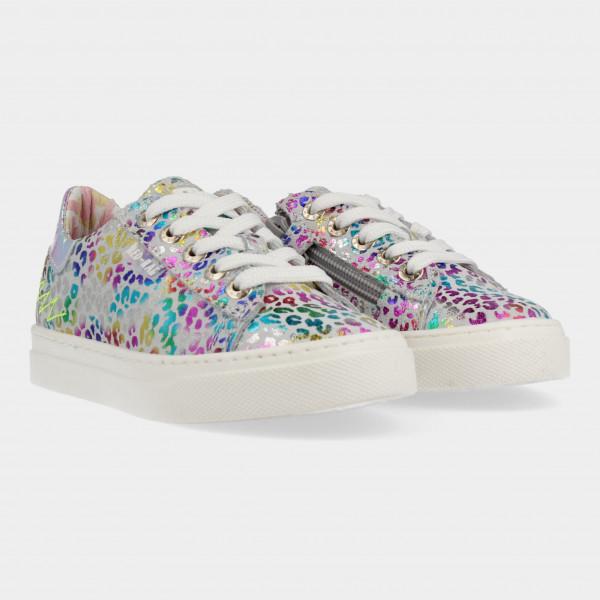 Multicolor Sneakers Met Rits | Red-Rag 12132