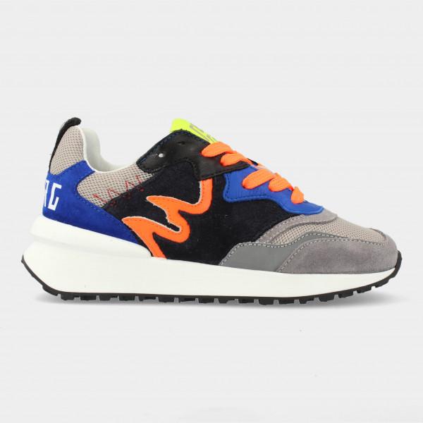 Blauwe Sneakers   Red-Rag 13109