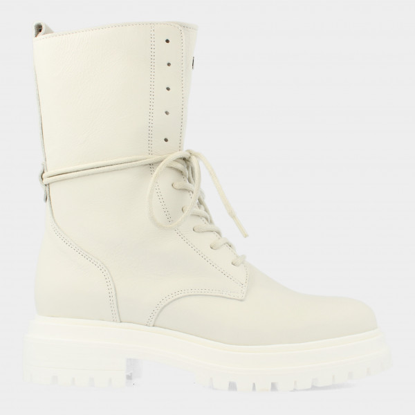 Hoge Witte Boots | Red-Rag 71132
