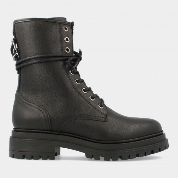 Zwarte Biker Boots | Red-Rag 71228