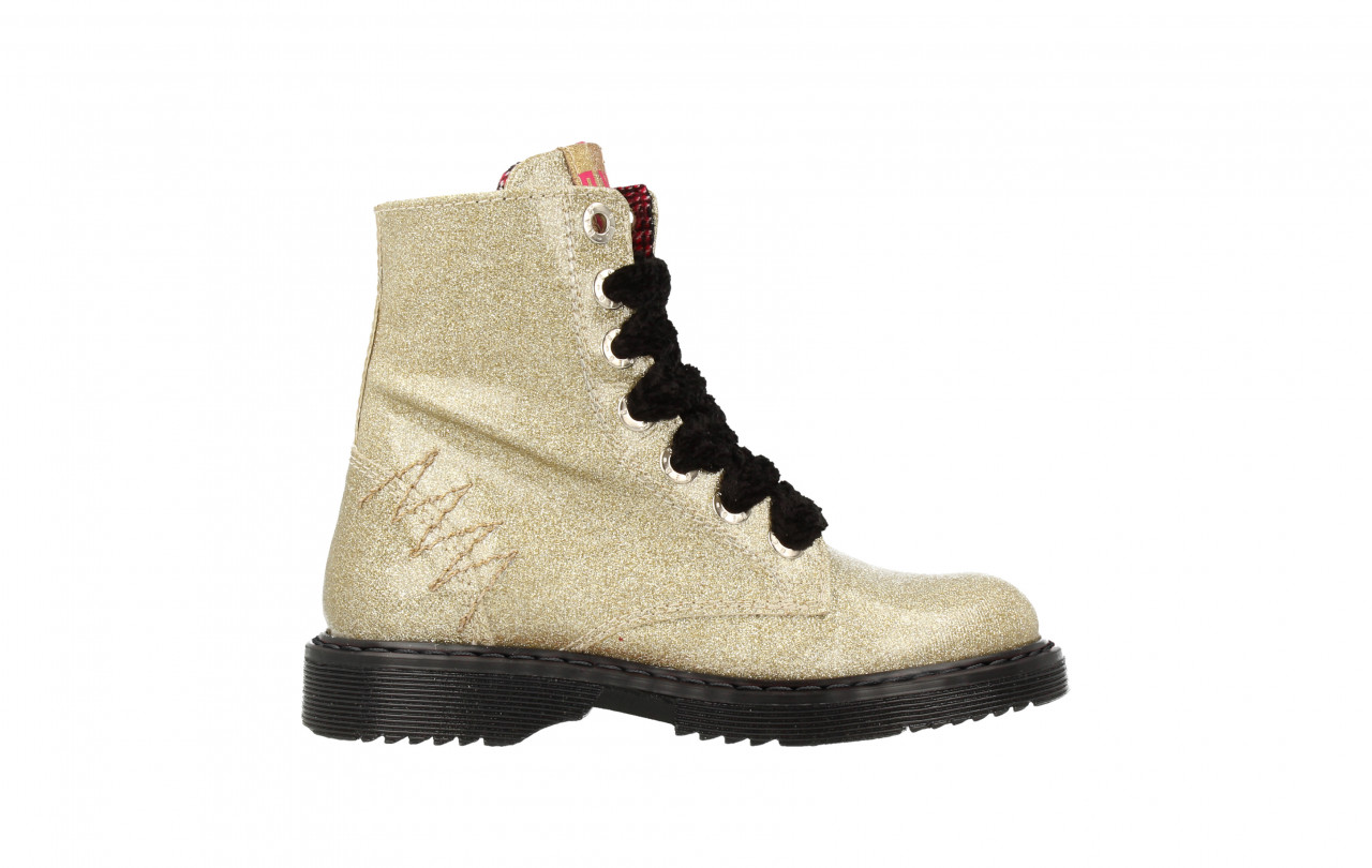 Girls Mid Boot Laces Glitter