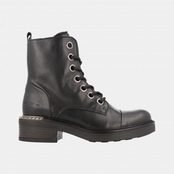 Zwarte Biker Boots   Red-Rag 71150