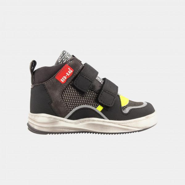 Hoge Zwarte Sneakers | Red-Rag 13149