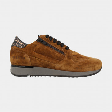 Cognac Sneakers | Red-Rag 76814