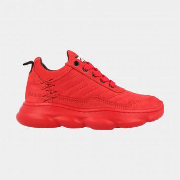 Rode Sneakers Laag | Red-Rag 13333