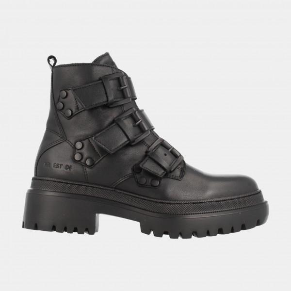 Zwarte Biker Boots | Red-Rag 74350
