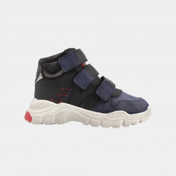 Hoge Blauwe Sneakers | Red-Rag 13119