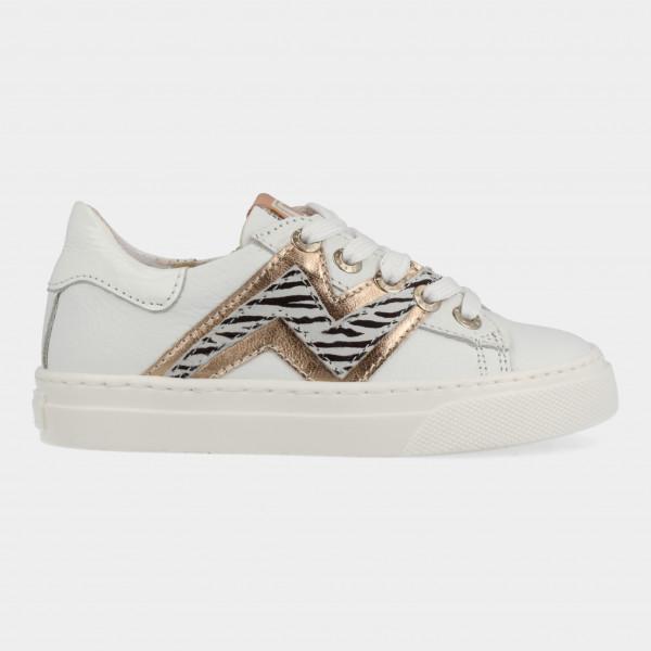 Witte Sneakers Met Dierenprint | Red-Rag 12124